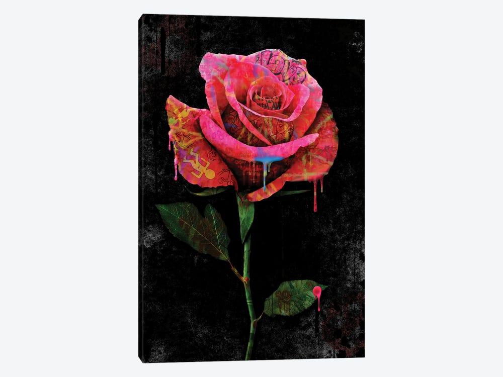 Rose by Frank Amoruso 1-piece Canvas Artwork