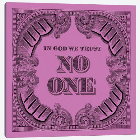 100 Square Pink Canvas Print #FAR2} by Frank Amoruso Canvas Art Print