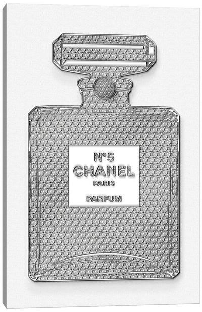 Chanel Bottle Canvas Art Print