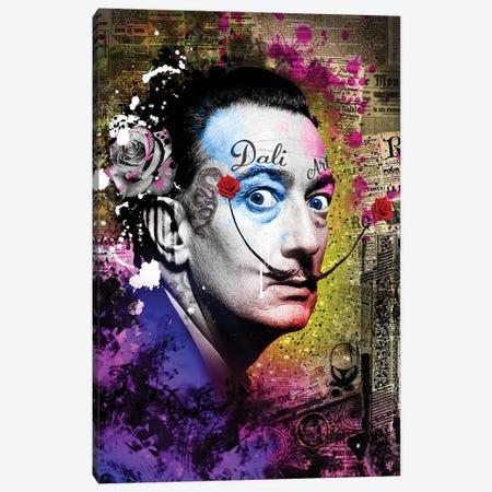 Dali Canvas Print #FAR7} by Frank Amoruso Canvas Wall Art
