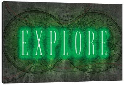Explore Canvas Art Print