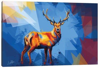 Deer in the Wilderness Canvas Art Print
