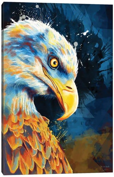 Eagle Eye Canvas Art Print