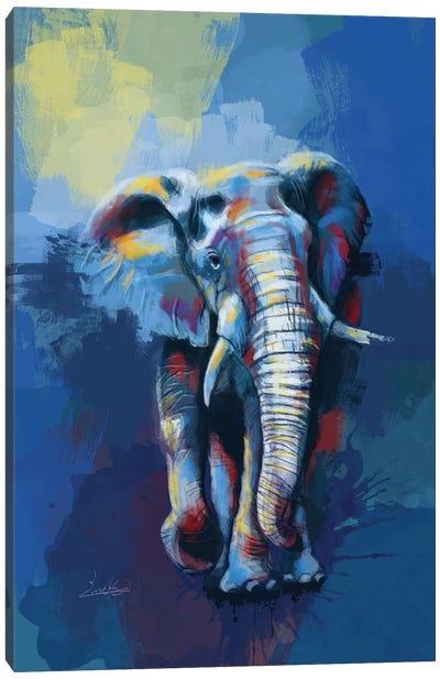 Elephant Dream Canvas Art Print