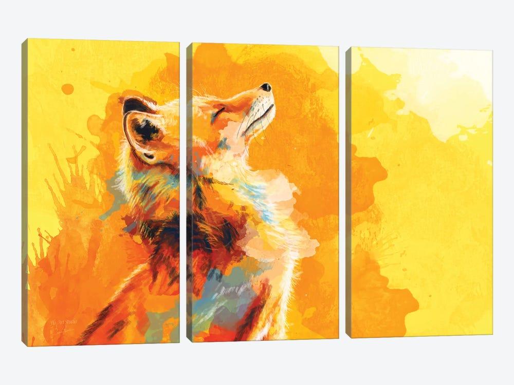 Blissful Light by Flo Art Studio 3-piece Art Print