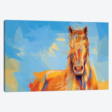 Obedient Spirit Canvas Print #FAS26} by Flo Art Studio Canvas Wall Art