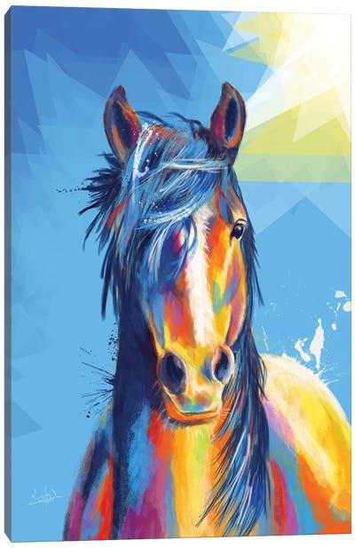 Horse Beauty Canvas Art Print