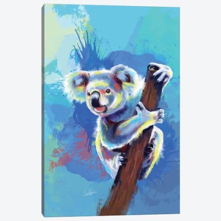 Koala bear Canvas Print #FAS34} by Flo Art Studio Art Print