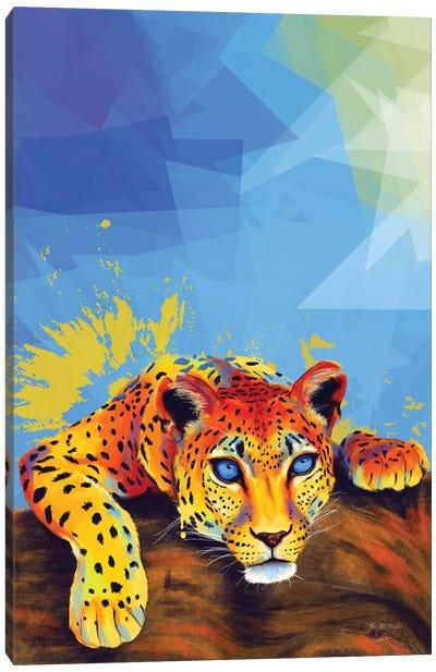 Tree Leopard Canvas Art Print