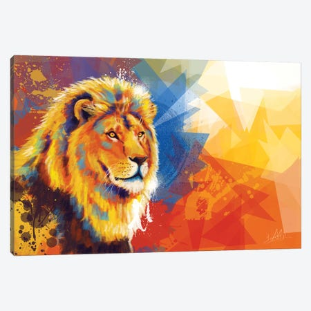 Majesty Canvas Print #FAS37} by Flo Art Studio Canvas Art Print