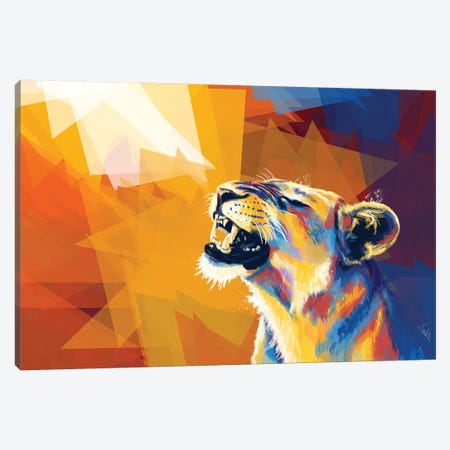 In The Sunlight Canvas Print #FAS39} by Flo Art Studio Canvas Art