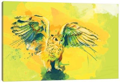 Silent Wings Canvas Art Print