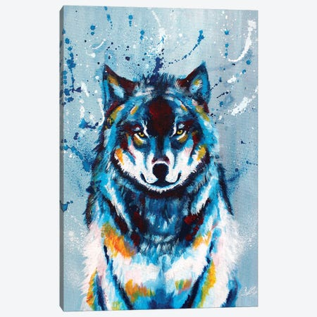 Wise and Wild Canvas Print #FAS52} by Flo Art Studio Canvas Art