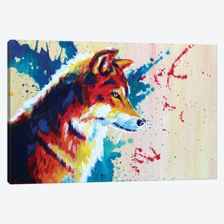 Untamed Canvas Print #FAS53} by Flo Art Studio Canvas Wall Art