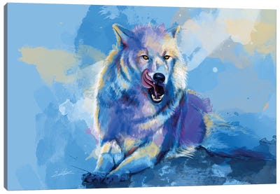 Awaken The Wolf Canvas Art Print
