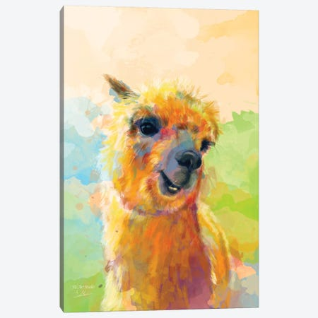 Colorful Happiness Canvas Print #FAS56} by Flo Art Studio Canvas Art Print
