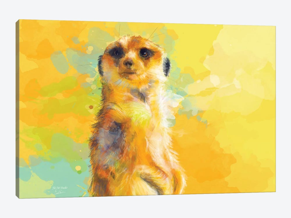Dear Little Meerkat by Flo Art Studio 1-piece Art Print