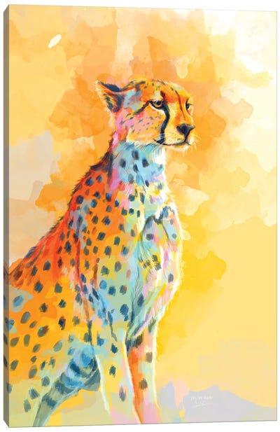 Cheetah Wild Grace Canvas Art Print
