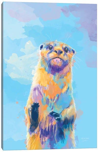 Mister Otter Canvas Art Print