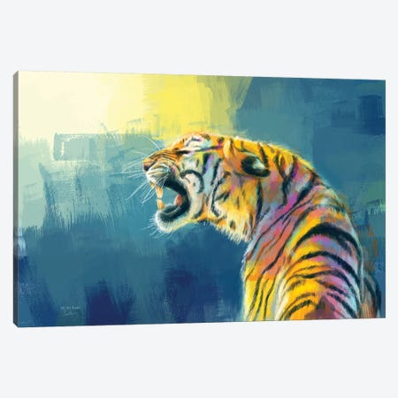 Shine Fearlessly Canvas Print #FAS66} by Flo Art Studio Canvas Wall Art