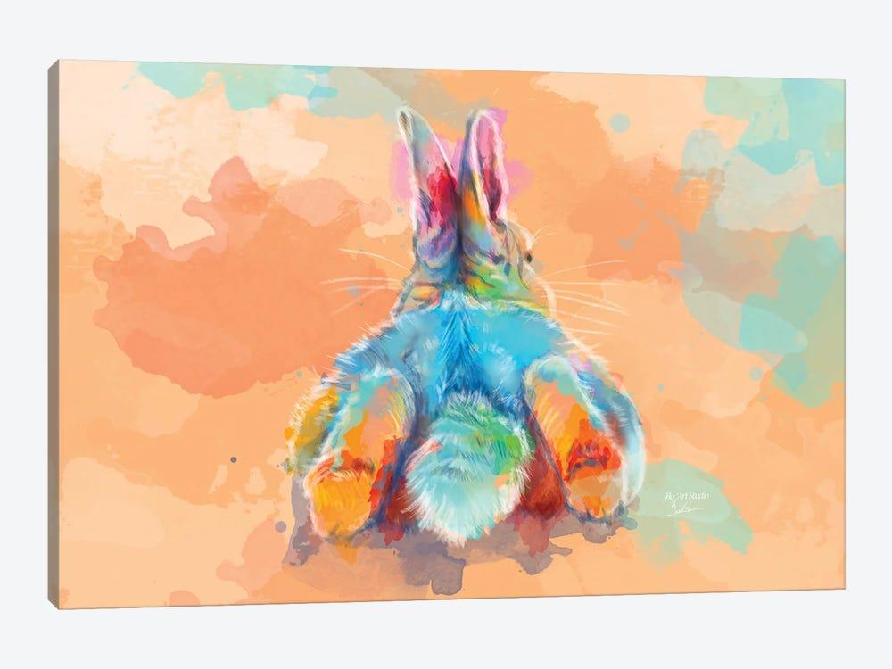 Bunny Butt by Flo Art Studio 1-piece Art Print