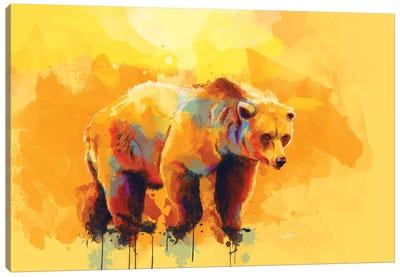 Bear Dream Canvas Art Print