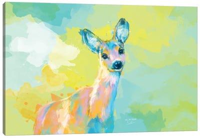 Doe Portrait Canvas Art Print