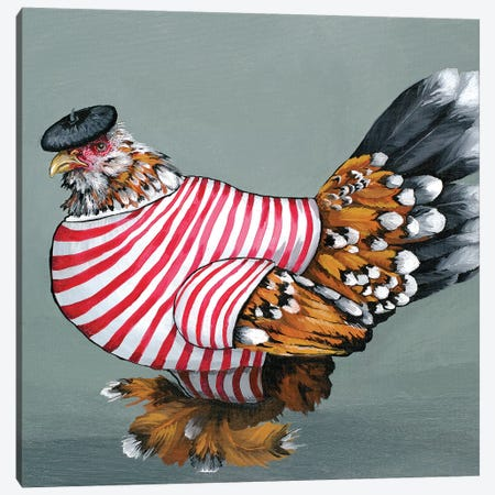 Fench Mille Fluer Canvas Print #FAU12} by Eric Fausnacht Canvas Wall Art