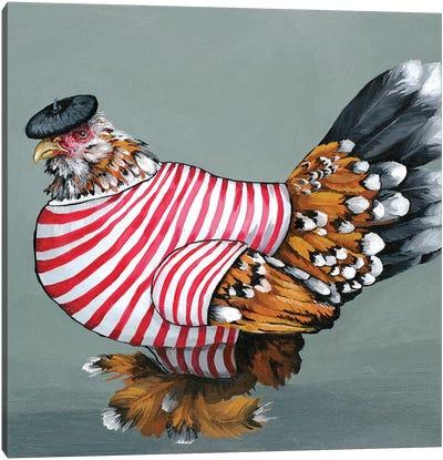 Fench Mille Fluer Canvas Art Print