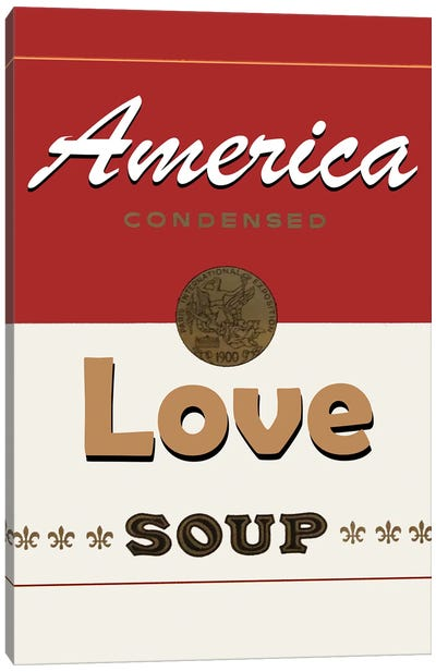 Love Soup Canvas Art Print