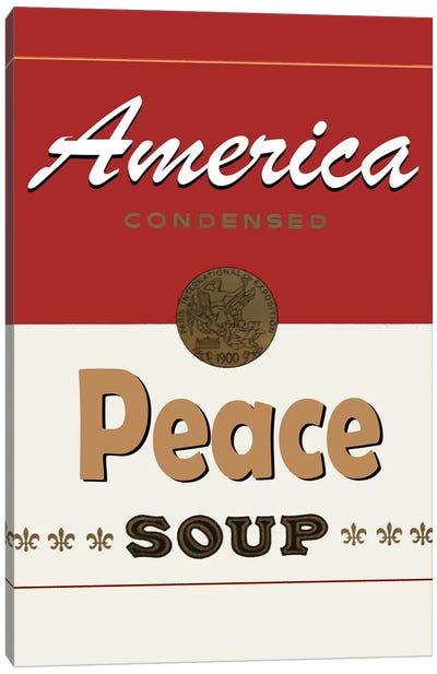 Peace Soup Canvas Art Print