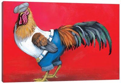 Hip Hop Rooster Canvas Art Print