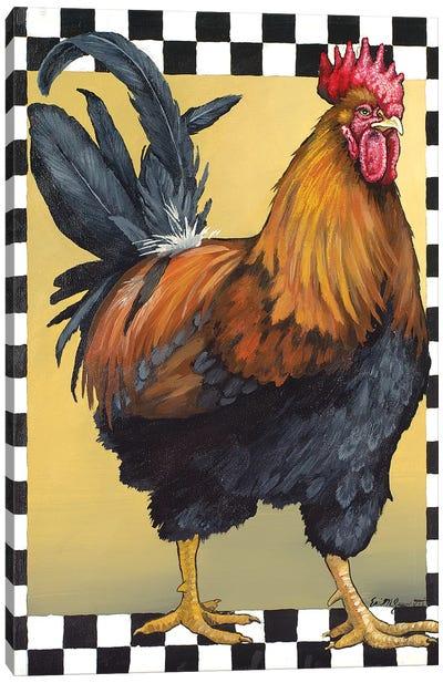 Right Facing Leghorn Canvas Art Print