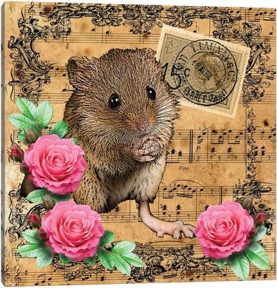 Music Mouse Canvas Art Print