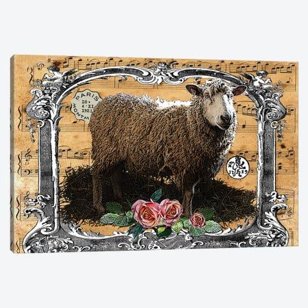 Music Sheep Canvas Print #FAU84} by Eric Fausnacht Canvas Artwork