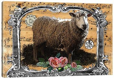 Music Sheep Canvas Art Print