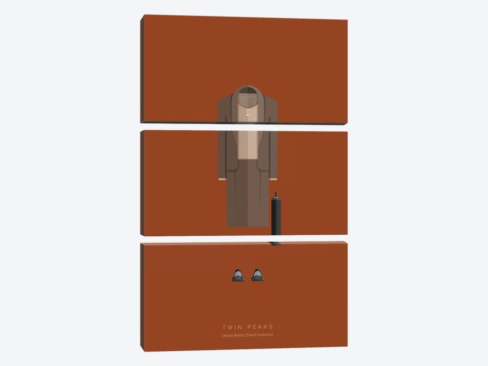 Twin Peaks by Fred Birchal 3-piece Art Print