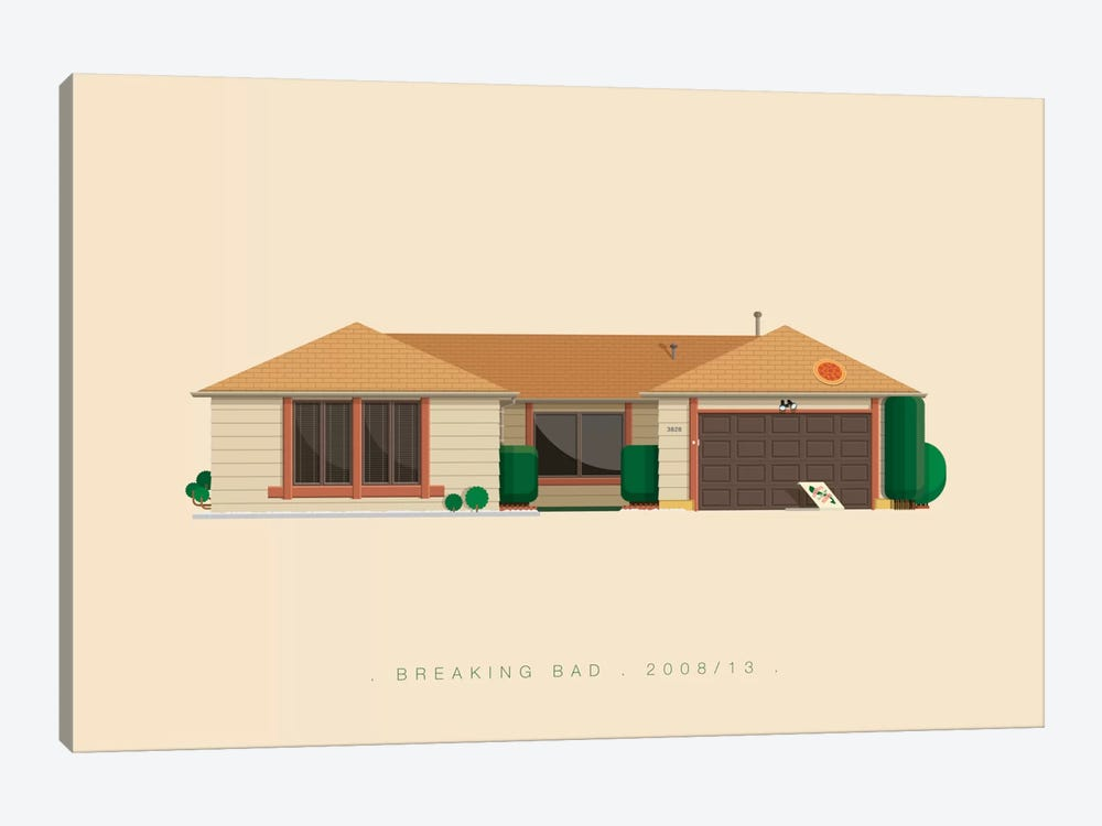 Breaking Bad Canvas Art by Fred Birchal | iCanvas