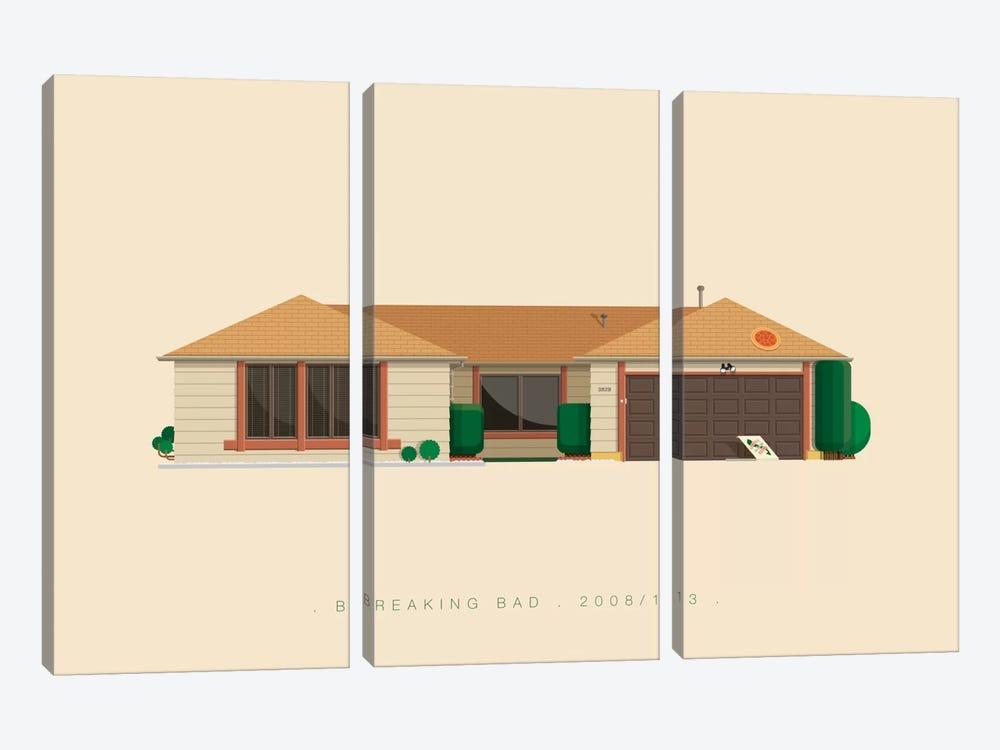 Breaking Bad by Fred Birchal 3-piece Canvas Artwork