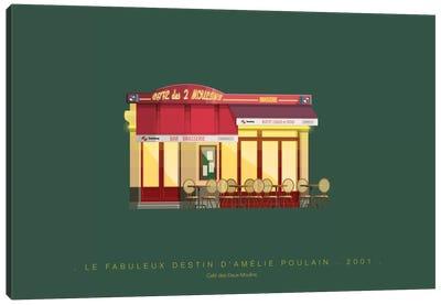 Famous Hollywood Settings Series: Le Fabuleux Destin d'Amelie Poulain Canvas Print #FBI121