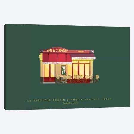 Le Fabuleux Destin d'Amelie Poulain Canvas Print #FBI121} by Fred Birchal Canvas Print