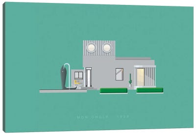 Mon Oncle Canvas Art Print