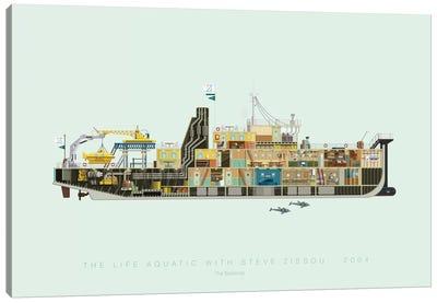 Famous Hollywood Settings Series: The Life Aquatic With Steve Zissou Canvas Print #FBI126