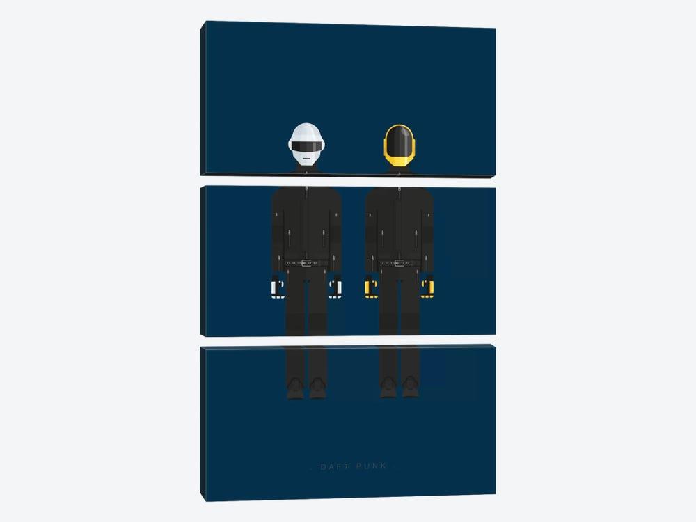 Daft Punk by Fred Birchal 3-piece Art Print