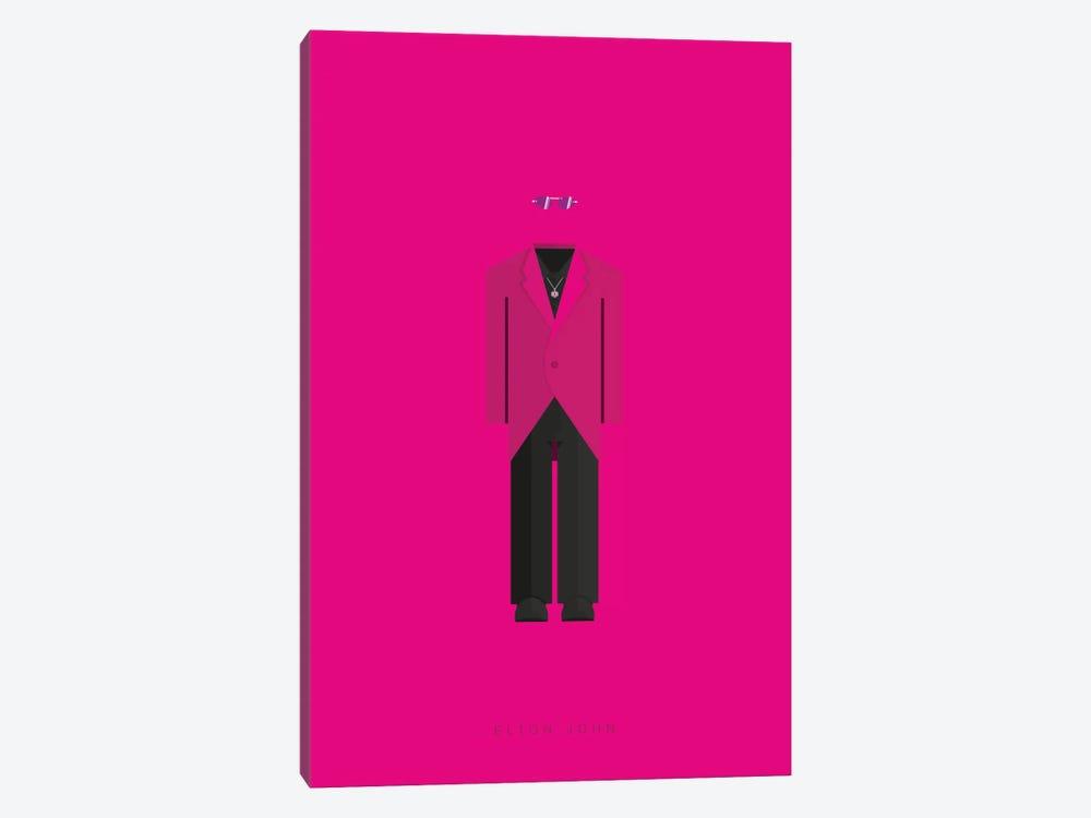 Elton John by Fred Birchal 1-piece Canvas Art