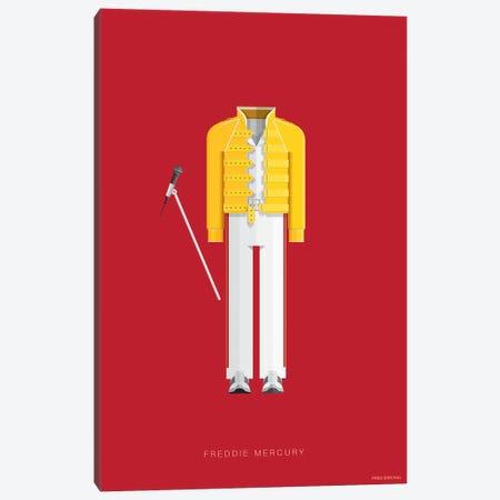 Freddie Mercury Canvas Print #FBI133} by Fred Birchal Canvas Wall Art