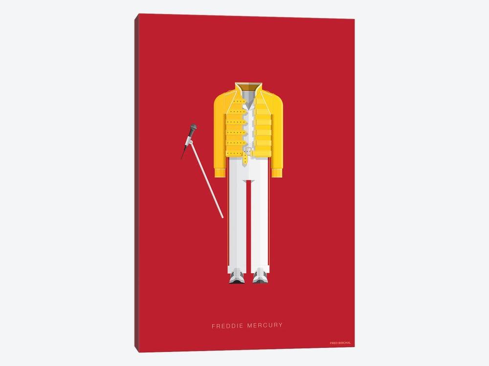 Freddie Mercury by Fred Birchal 1-piece Canvas Art