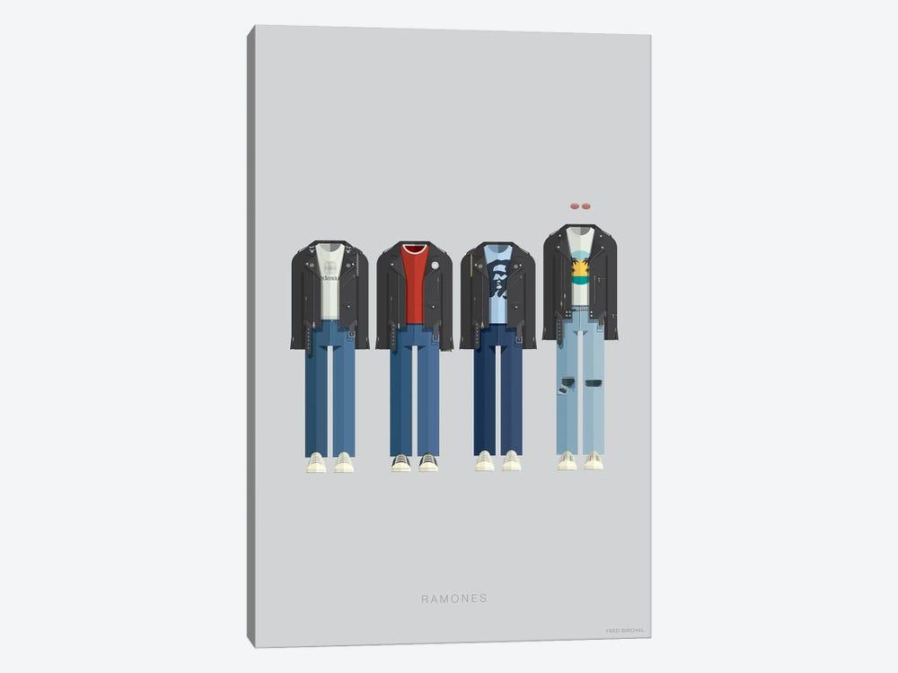 Ramones by Fred Birchal 1-piece Canvas Art Print