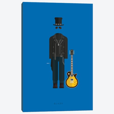 Slash Canvas Print #FBI139} by Fred Birchal Canvas Wall Art