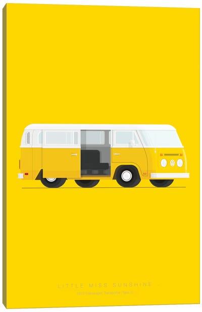 Famous Cars Series: Little Miss Sunshine Canvas Print #FBI13